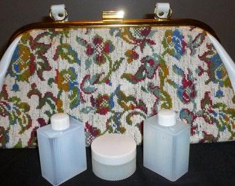 Vintage 1970's Tapestry Bag