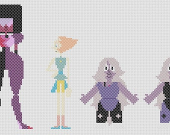 The Crystal Gems Pattern (Steven Universe)