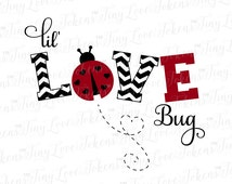 Lil Love Bug SVG Design for Silhouette and other craft cutters (.svg/.dxf/.eps/.pdf)