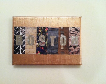 Personalized Canvas - City or Name