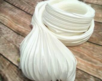 Shibori Silk Ribbon Handmade Silk ribbon