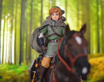 Link and Epona Toy Photography 11x17 Print