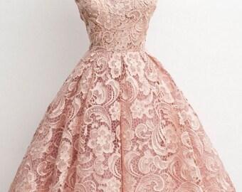 Rosella Finding Neverland Lace Dress - Wedding dress / Formal dress / Prom dress/ Bridal dress