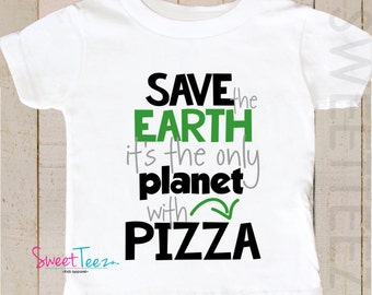 Earth Day Shirt Save The Earth Shirt Baby Boy Girl Bodysuit Funny Shirt Toddler Youth