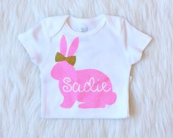 My First Easter, Easter Onesie, Easter Outfit for girl, Baby First Easter, Easter Outfit Baby Girl, Easter Outfit, Easter Shirt, Easter girl