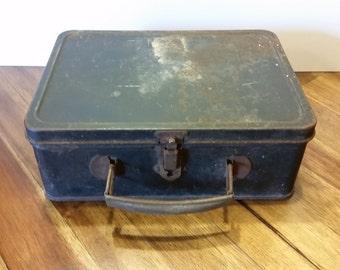 Antique Metal Lunchbox