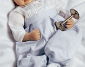 Realistic Handmade Soft Bodied Baby Doll Boy Newborn Lifelike Vinyl Weighted from Paradise Galleries, Royal Baby Prince - Great to Reborn