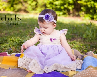 Baby Headband, Newborn Headband, Girls Headband, Baby Girls Hair Flower Baby Bows, Girls Flower Headband, Photography Prop Baby Headband