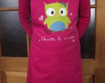 OWL apron kitchen