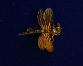 Vintage Dragonfly Brooch