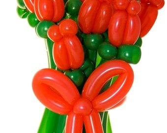 Bouquet of Balloon Roses - Flowers - Rose - Balloons - Balloons - Love - Romance - I love you - Anniversary - Birthday - Wife - Girlfriend