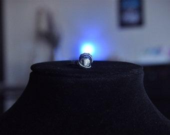 046 - herkimer diamond ring