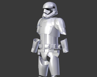 "Stormtrooper Armor ""First Order"" from Star Wars for 3D-printing"