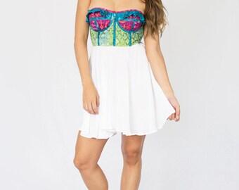 Spring Azure Dress