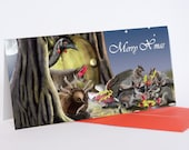 Christmas Cards (Pack of 5) - numbats, bilbies & friends