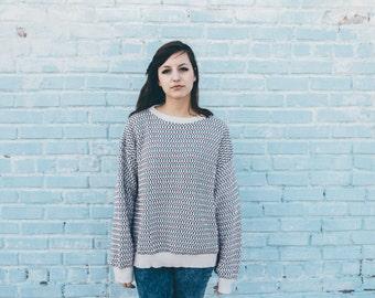 cotton vintage 90s sweater