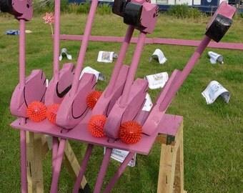 Flamingo Croquet Set