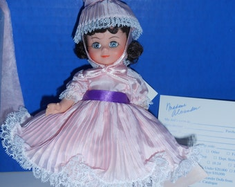 "Madame Alexander Little Miss No. 489 Ballerina outfit, 8"", w/ cert and box"