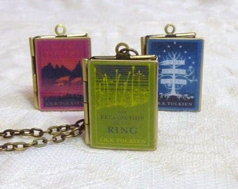 Lord of the Rings Story Locket