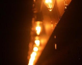 Abstract lights fine art photographic print