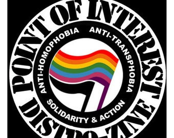 Point Of Interest Anti-Transphobia log button