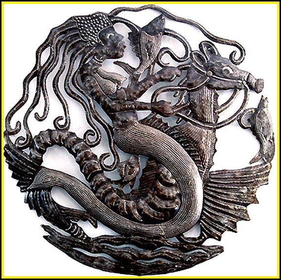 Mermaid Metal Wall Hanging Metal Wall Art 24