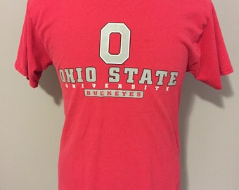 Vintage Ohio State University Buckeyes T-Shirt Medium