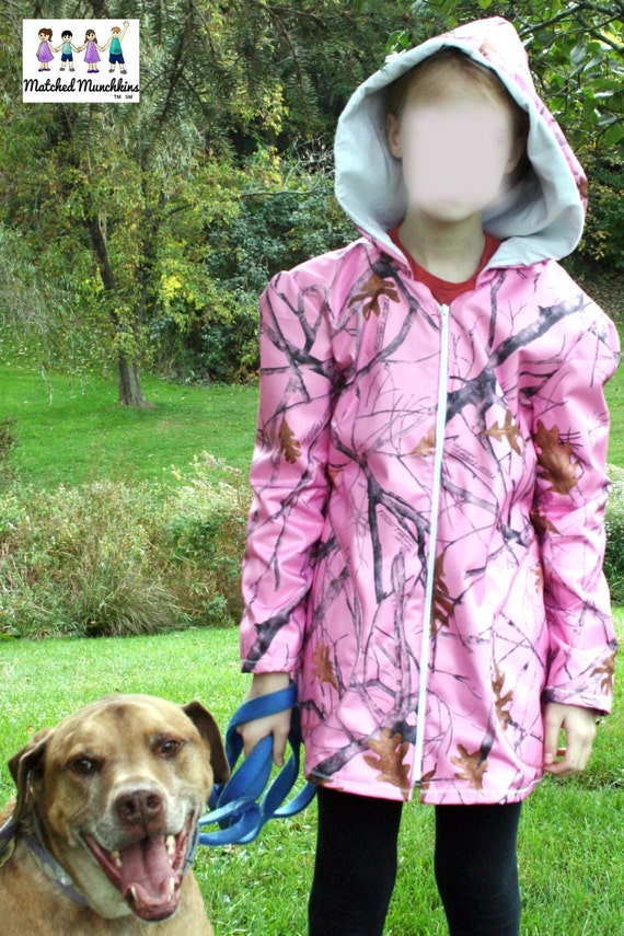 Boys Girls Children's Teen Raincoat Rain Coat by MatchedMunchkins