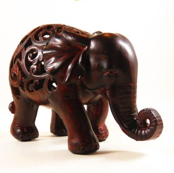 Elephant decor elephant figurine elephant nursery Elephant home decor items