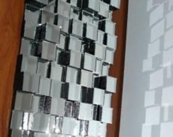 Design 3D glass mirror 35*70cm
