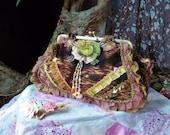 Handbag Fabric Handbags Hobo Bag Purse Morigirl Shoulder Bag Top Handle Bag Wedding Gift French Country Patchwork Bag Birthday Gift
