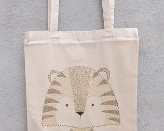 Tote Bag small Tiger - shopping bag