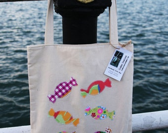 SALE! sweets by the sea tote bag