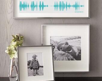 Baby Laughter Waveform Art