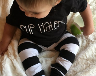 Black and white striped baby leggings - Toddler leggings - Baby boy leggings - Baby boy leggings - Hipster baby clothes - Toddler boy pants