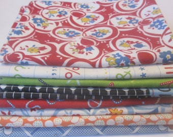 Fat Quarter Bundle-Punctuation by American Jane for Moda