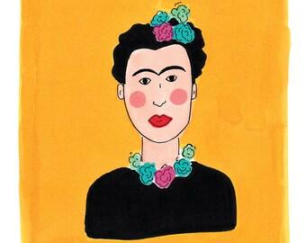 Frida Kahlo Portrait Print