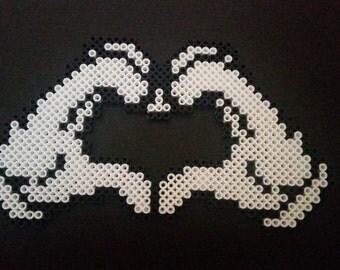 Heart Hands Magnet