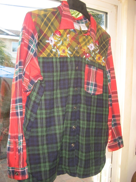 Flannel Women Shirt