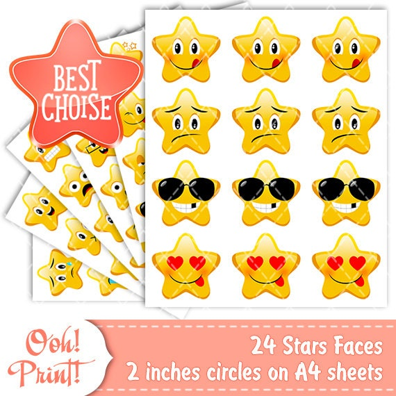 photograph relating to Printable Emoji Stickers referred to as Emoji Planner Stickers and Arts and Crafts Stickers Perfect