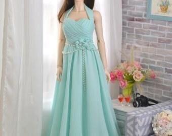 Long Chiffon Prom Dress For Iplehouse EID, SID BJD
