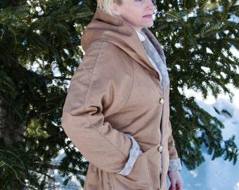 Reversible spring/fall coat