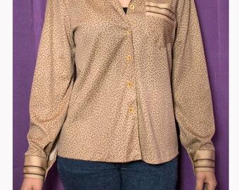 Vintage 1970s shirt-vintage blouse