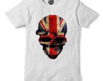Skull Union Jack Freedom Great Britain Independence Day Brexit Leave T shirt United Kingdom UK 237