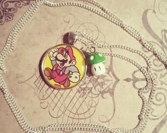 Vintage gaming/Mario/ Super Mario Bros 2 print pendant