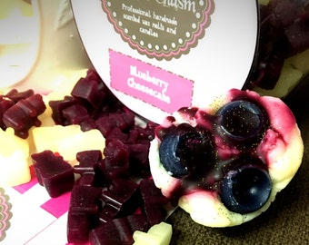 Blueberry Cheesecake Scented Cupcake Wax Melts. 30g