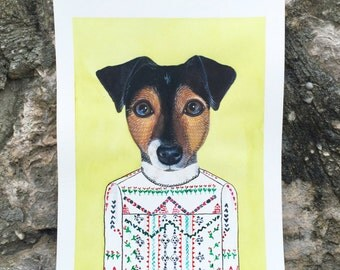 "8 x 10"" PET CUSTOM Illustration"