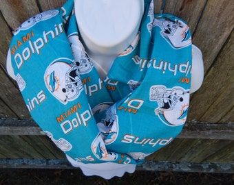 Miami Dolphins Infinity Scarf