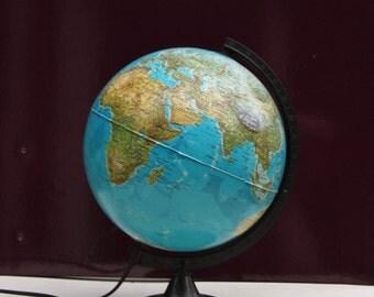 Globe Earth light in Italy
