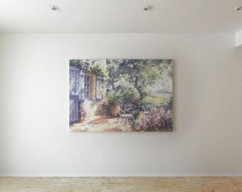Old house - Canvas decor